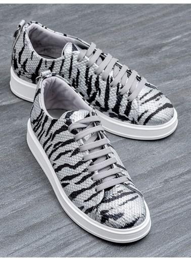 Elle Sneakers Gümüş